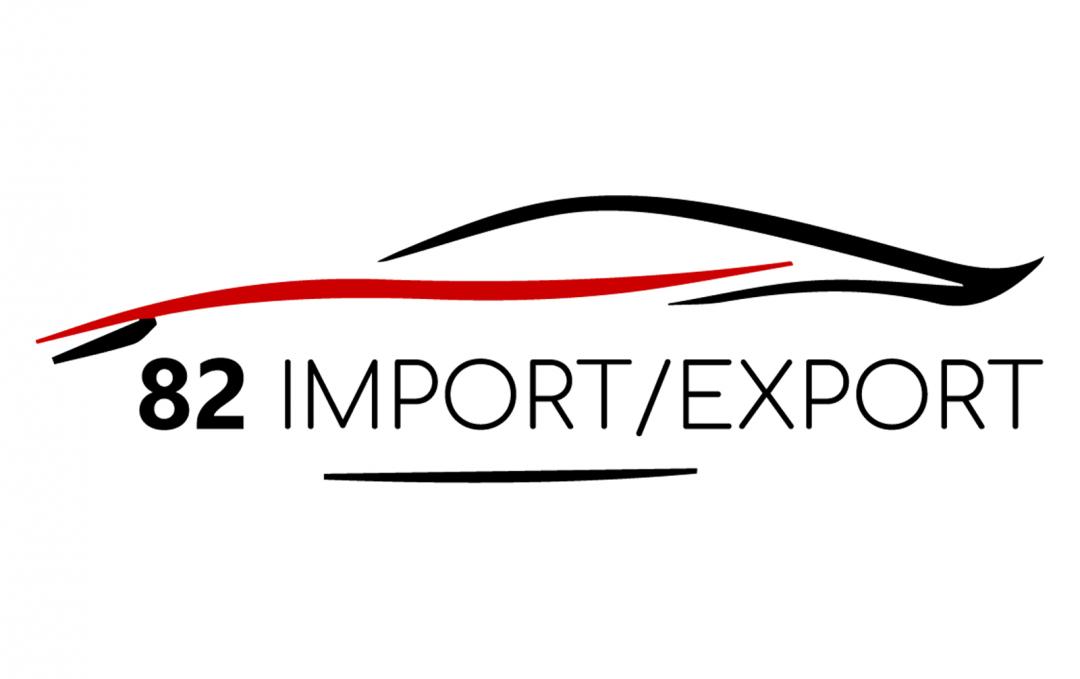 82 IMPORT/EXPORT – Logo